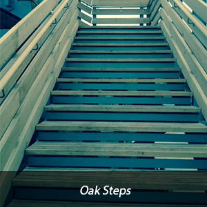 Devon Oak Steps