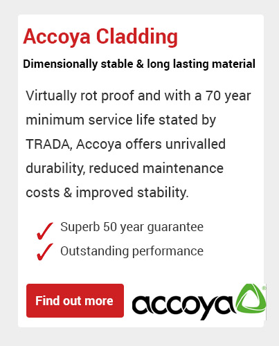 Accoya Cladding Devon