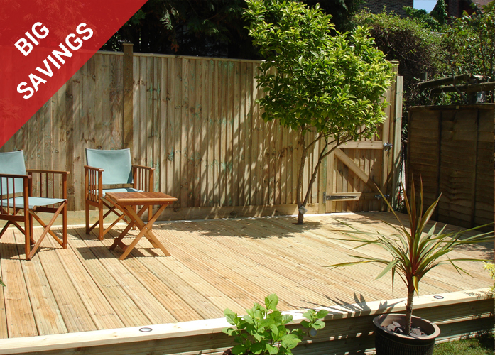 Devon Hardwood Decking