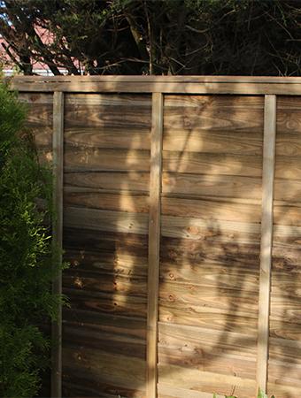 Lap Fence Panels Devon