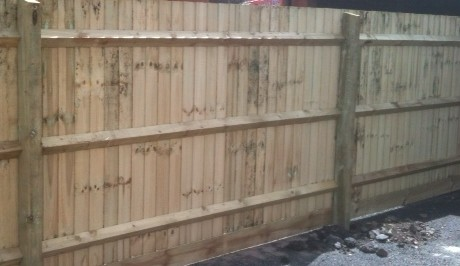 Image result for feather edge fencing