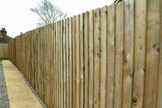 Lap fencing Devon