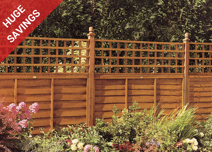 Devon Fence panels