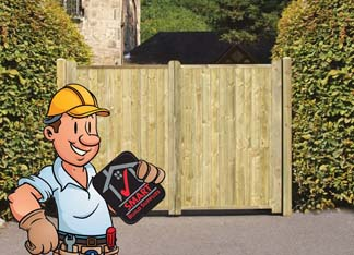 timber fencing exeter devon