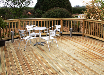 Timber Decking Exeter